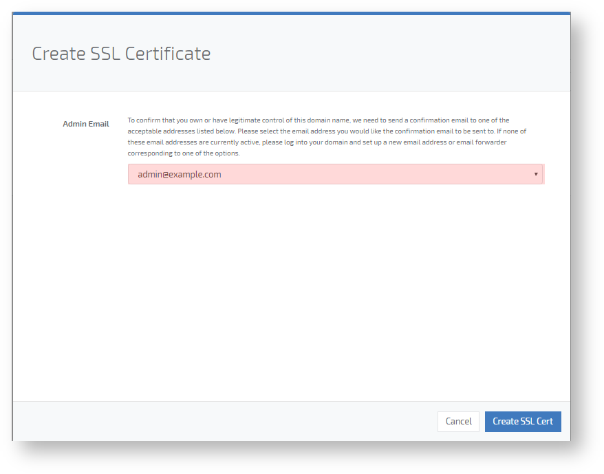 How To Request An Ssl In 100tb Console Console 100tb Knowledgebase
